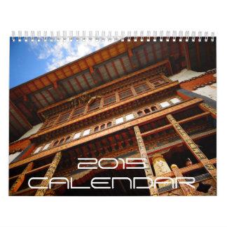 Imágenes de Bhután 2015 Calendarios