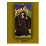 Imágenes de carta de tarot de Visconti-Sforza en t Tarjetas Postales