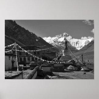 Imágenes de Himalaya: Fotos tibetanas Poster