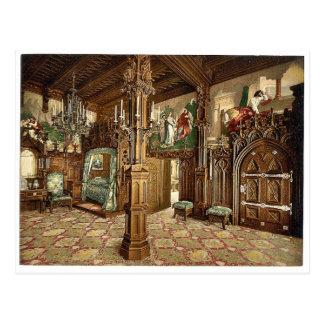 Imágenes de la historia de Tristan, dormitorio, Postales