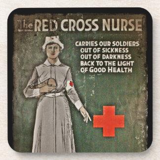 Imágenes de la obtención de fondos de la enfermera posavaso