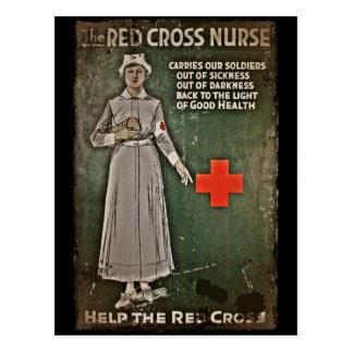 Imágenes de la obtención de fondos de la enfermera tarjetas postales