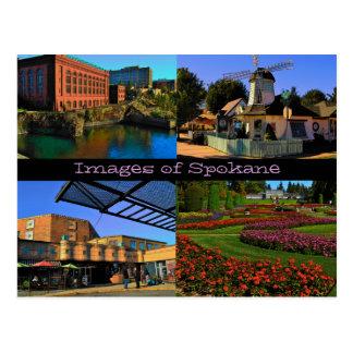 Imágenes de la postal de Spokane