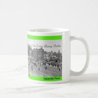 Imágenes de levantamiento 1916 de Pascua para la t Taza Básica Blanca