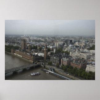 Imágenes de Londres: Visión desde el ojo de Londre Poster