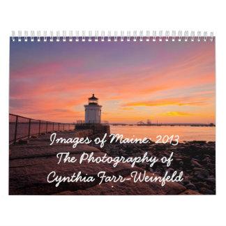 Imágenes de Maine Calendario 2013