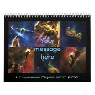 Imágenes de nuestro universo, belleza del espacio calendarios