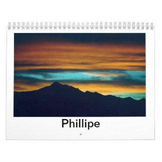 Imágenes de Phillipe Aguayo Calendario