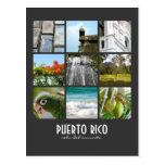 Imágenes de Puerto Rico Tarjeta Postal