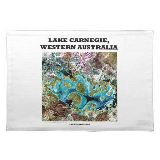 Imágenes de satélite de Carnegie Australia occiden Manteles