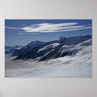 Imágenes de Suiza: Opinión de Jungfraujoch: Poster