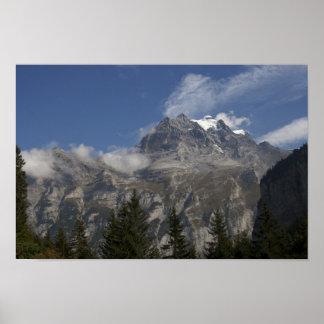 Imágenes de Suiza: Opiniones de Jungfrau: Poster Póster