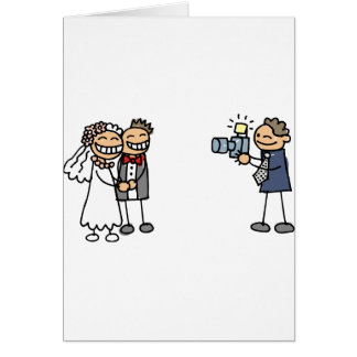 Imágenes del boda de la fotografía del fotógrafo d tarjeta