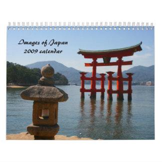 imágenes del calendario de Japón 2009