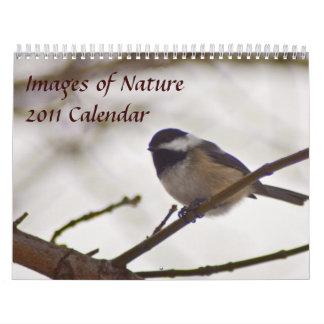 Imágenes del calendario de la naturaleza 2011