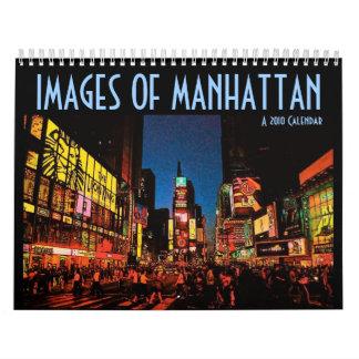 Imágenes del calendario de Manhattan