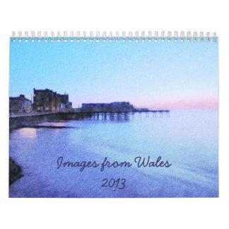 Imágenes del calendario de País de Gales 2013