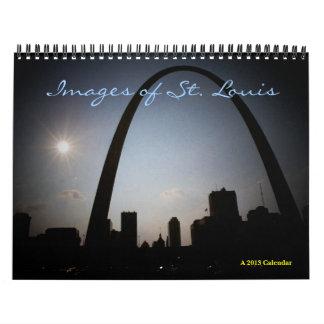 Imágenes del calendario de St Louis