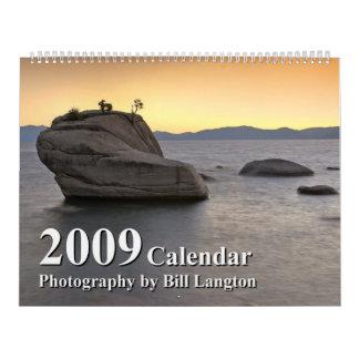 Imágenes del calendario del oeste 2009