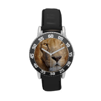 Imágenes del león relojes de mano