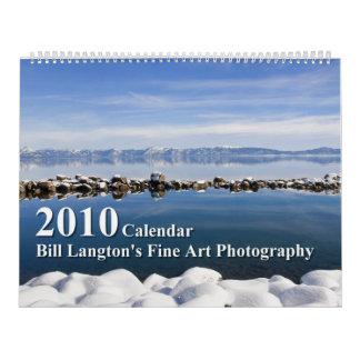 Imágenes del oeste - edición 2010 calendarios de pared