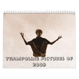 Imágenes del trampolín de 2009 calendarios de pared