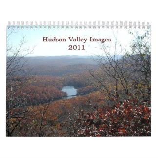 Imágenes del valle del Hudson Calendario