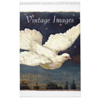 Imágenes del vintage calendarios de pared