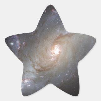 Imágenes fantásticas 1 de Hubble Pegatina En Forma De Estrella