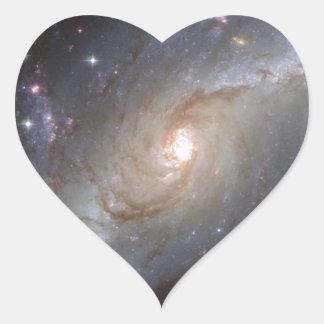 Imágenes fantásticas 1 de Hubble Pegatina En Forma De Corazón