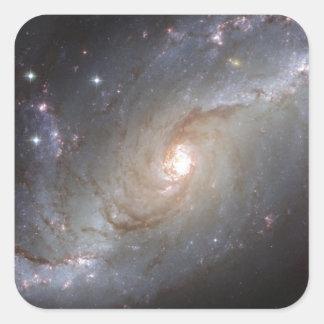 Imágenes fantásticas 1 de Hubble Pegatina Cuadrada