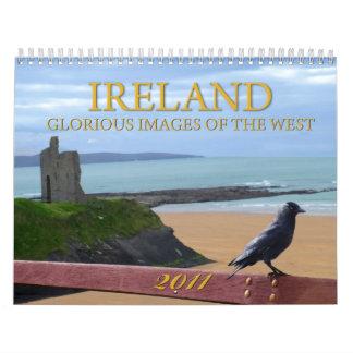 Imágenes gloriosas del oeste de Irlanda 2011 Calendario