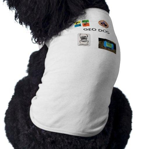 imágenes, insecto geocaching del viaje, Geocache,  Camiseta De Perro