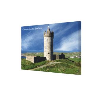 Imágenes irlandesas para la lona envuelta impresión en lienzo