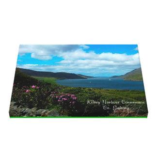 Imágenes irlandesas para la lona envuelta impresión en lona