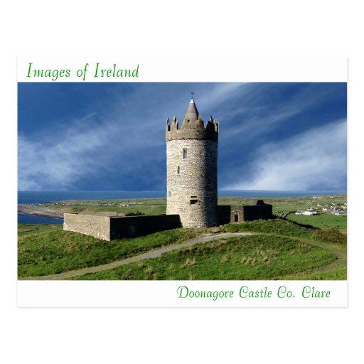 Imágenes irlandesas para la postal