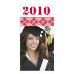 Imágenes mayores - tarjeta 2010 de la foto de la tarjeta fotografica personalizada
