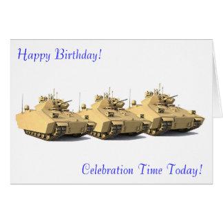 Imágenes militares para la tarjeta de felicitación