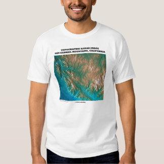 Imágenes topográficas San Gabriel Mtns CA del Remera