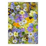 imagens com flores tarjeta pequeña