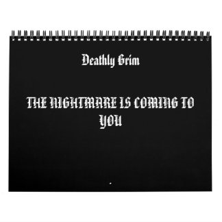 ImagePlaceholder,  , Deathly Grim , THE NIGHTMA... Calendar