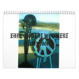 ImagePlaceholder, wreath, EARL  ROBERT WOOMERT ... Calendar