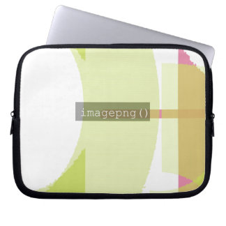 imagepng() Code Design 2 on Laptop Sleeve