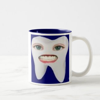 images-2, Clean teeth are happy teeth! Two-Tone Coffee Mug