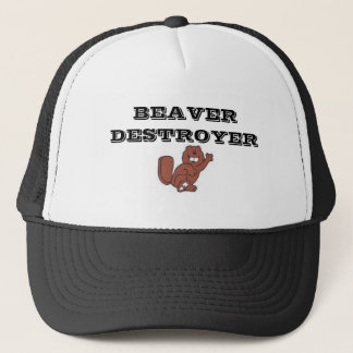 images, BEAVER DESTROYER Trucker Hat
