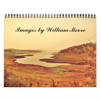 Images by William Moore two Calendars