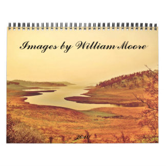 Images by William Moore two Wall Calendars
