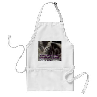 images, Everything Taste's Better with Cat Hair... Adult Apron