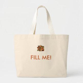 images, FILL ME! Jumbo Tote Bag