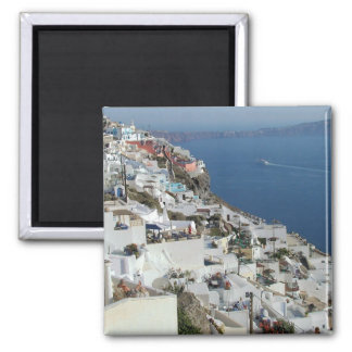 Images From A Taste of Greece 2 Inch Square Magnet